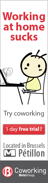 Working at home sucks: try coworking in Brussels
