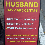 Husband daycare center pub in Ireland