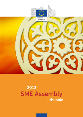 2013 SME Assembly Lithuania poster