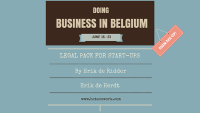 Doing business in Belgium - Legal pack